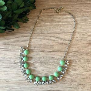 Mint Petal Necklace